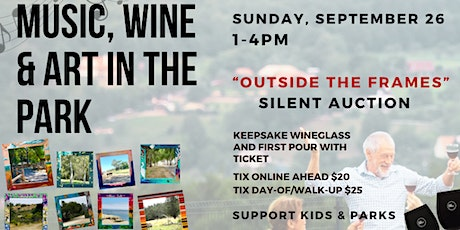 Music, Wine and Art in the Park tickets