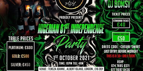 Nigerian 61st Independence Day Party tickets
