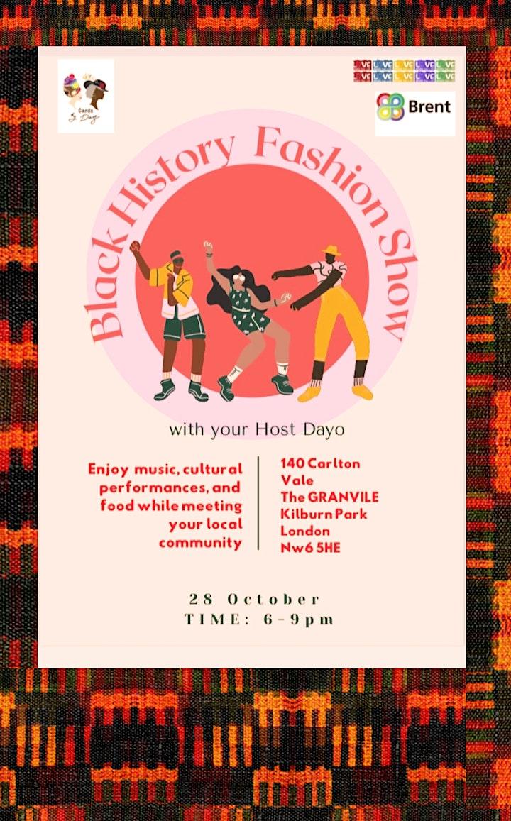 Black  History Fashion Show image