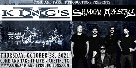 King's X Featuring Shadow Ministry tickets