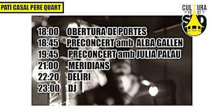 CULTURA FEST SABADELL // DIUMENGE 10 TARDA entradas