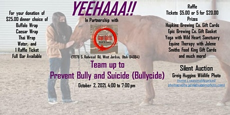 Prevent Bullying and Suicide (Bullycide) for Utah Youth tickets