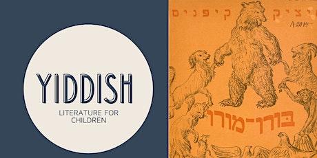 Yiddish Literature for Children tickets