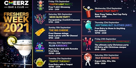 Freshers Week 2021 | Neon UV Party tickets