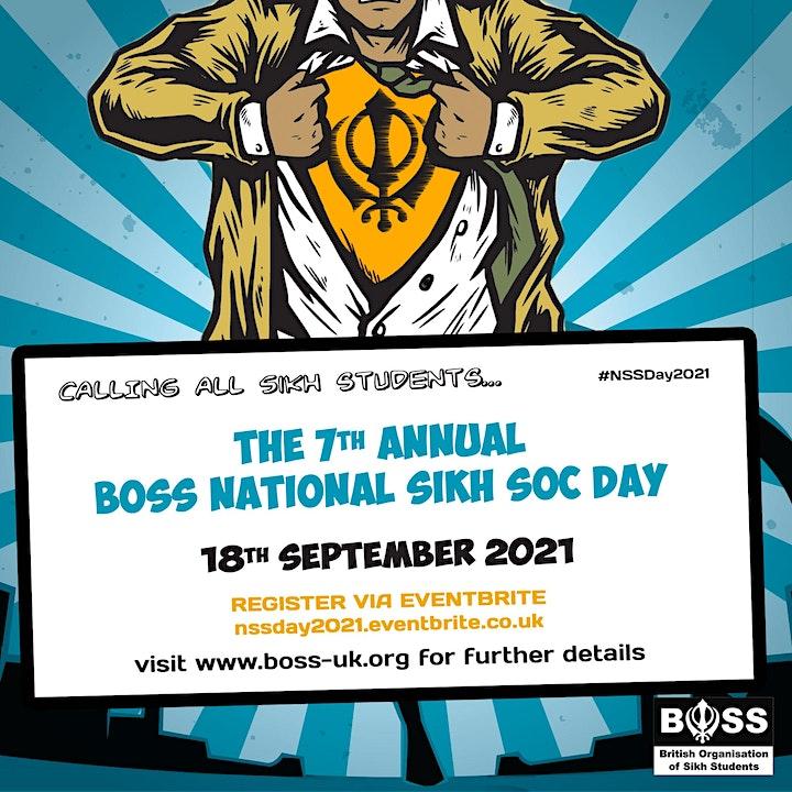 BOSS National Sikh Societies Day 2021 image