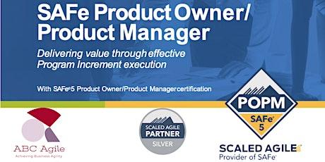 SAFe Product Owner/Product Manager 5.1 (POPM) - Curso Online en Español entradas