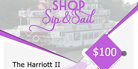 Shop, Sip & Sail tickets