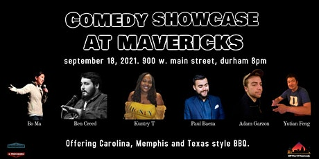 Comedy Showcase at Mavericks tickets