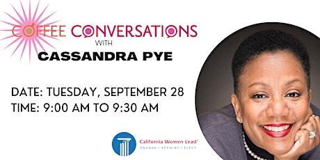 Coffee Conversations with Cassandra Pye tickets