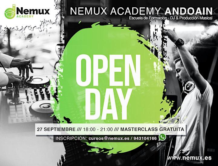 Imagen de Open Day - Nemux Academy (Otoño 2021)