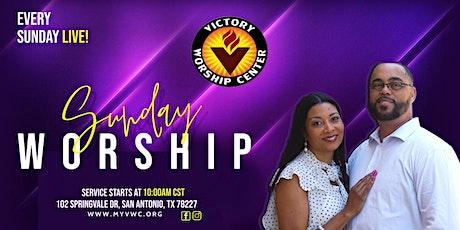 Victory Worship Center: Sunday Worship LIVE! tickets
