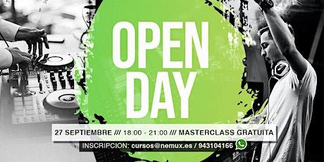 Open Day - Nemux Academy (Otoño 2021) entradas