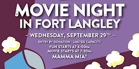 Movie Night in Fort Langley tickets