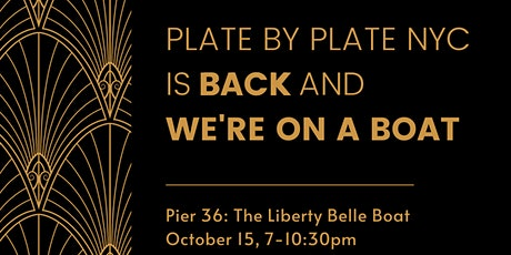 2021 Plate by Plate - We're on a Boat! tickets