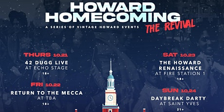 Howard Homecoming 2k21: The Revival tickets