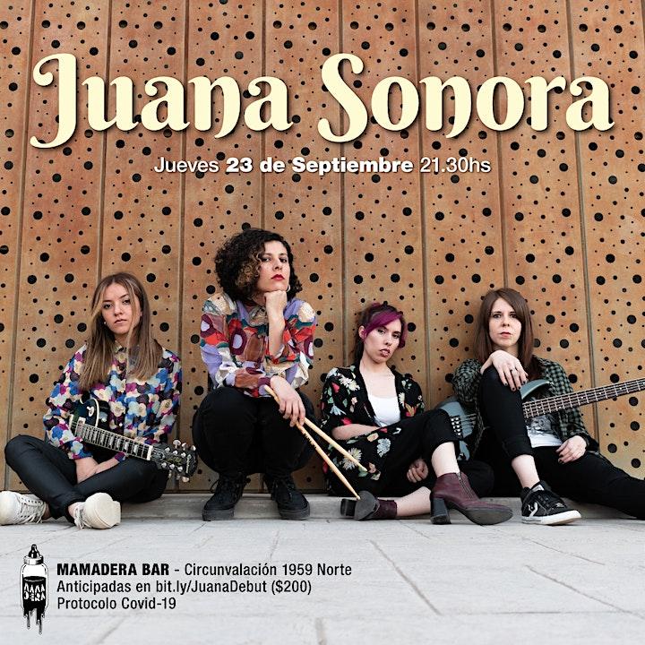 Imagen de Juana Sonora Debut