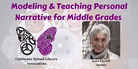 Modeling & Teaching Personal Narrative for Middle Grades (Grades 4 - 7) tickets