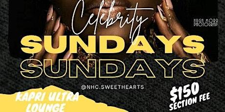 Celebrity Sunday's @ Kapri Ultra Lounge tickets