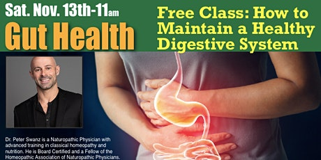 Gut Health: How to Maintain a Healthy Digestive System tickets