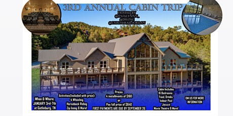 2022 3rd Annual Cabin Retreat tickets