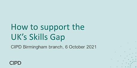 How to support UK's Skill Gap tickets