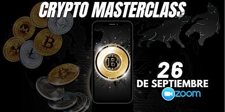 Crypto MasterClass boletos