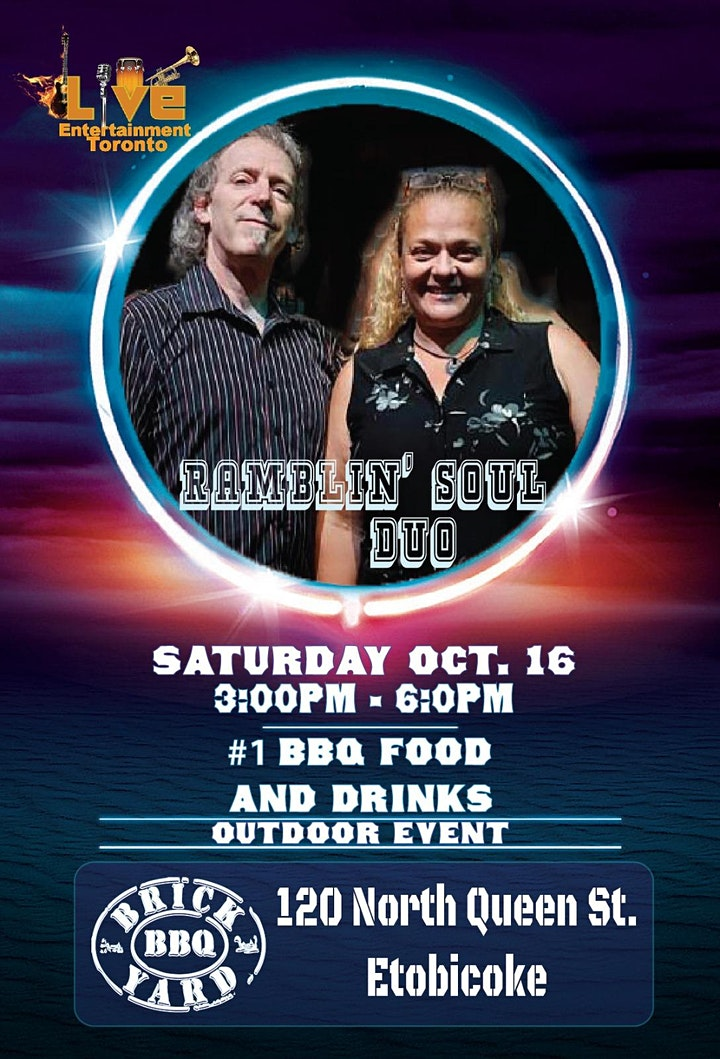 Ramblin' Soul Duo + BBQ Ribfest (Table Reservation) image