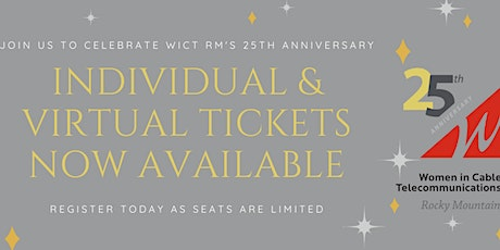 25th Anniversary Luncheon and Panel - In Person Registration tickets
