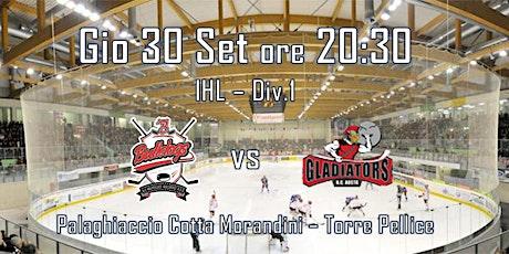 HC Valpellice Bulldogs - HC Aosta Gladiators biglietti