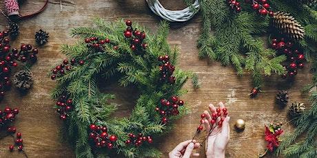 Christmas Floral Wreath workshop tickets