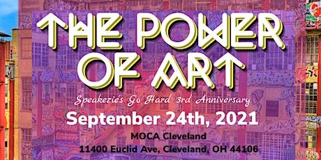 "Speakezie 3rd Anniversary ""The Power of Art"" tickets"