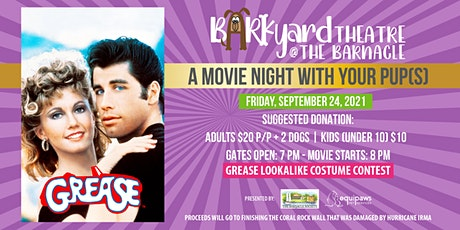 The Barkyard Theatre at The Barnacle: Grease! tickets