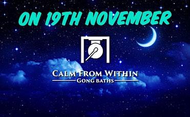 Gong Bath- 19th November tickets