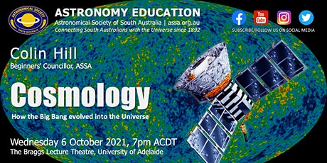 Cosmology | Astronomy Education by Colin Hill tickets
