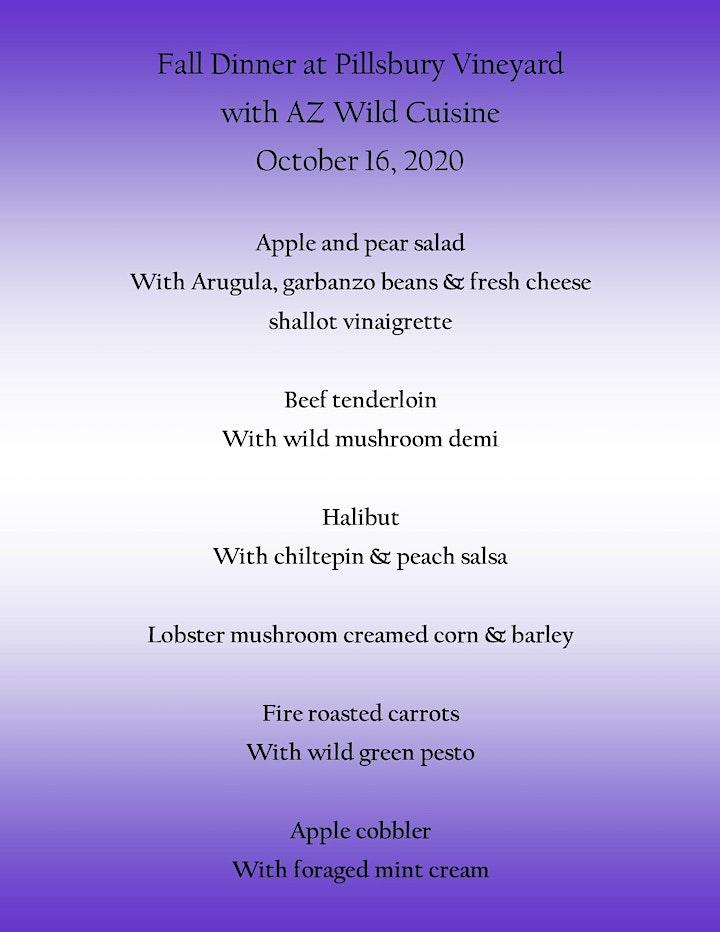 2021 Wild Cuisine Dinner at Pillsbury Winery, Willcox Wine Weekend image