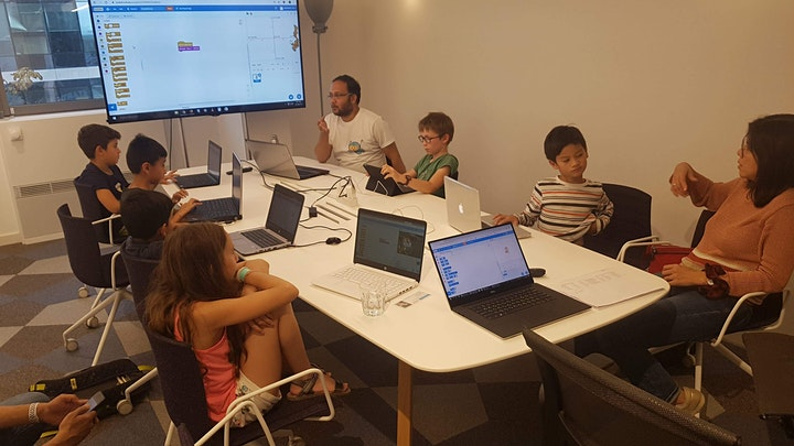 Meet and code 2021 - FREE - special event for kids ages 11-13 [Fr / En] image