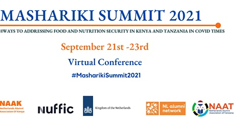 Mashariki Summit: Covid - 19  and the  Impact of Agriculture in East Africa tickets