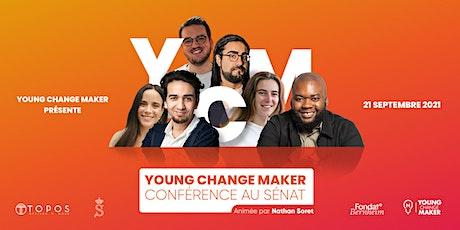 Young Change Maker au Sénat/ Young Change Maker in de Senaat. tickets