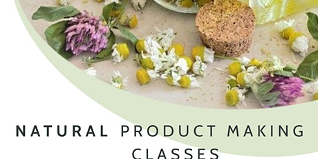 Natural Bodycare Making Product Workshop tickets
