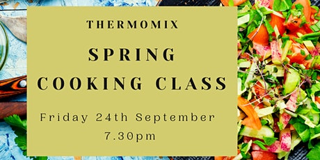Thermomix Spring Cooking Class tickets