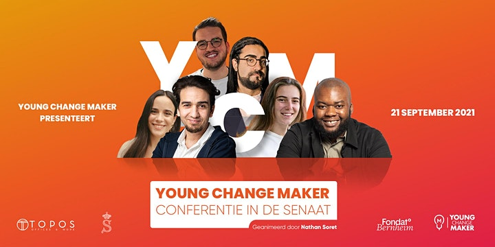 Afbeelding van Young Change Maker au Sénat/ Young Change Maker in de Senaat.