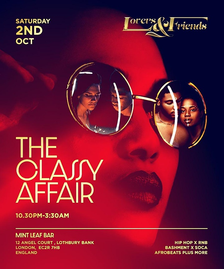LOVERS & FRIENDS - The Classy Affair image