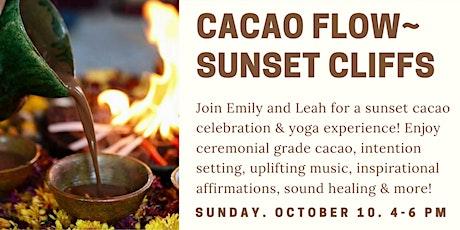 Cacao Flow - Sunset Cliffs tickets
