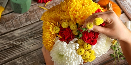 Fall Flower Arranging Workshop  at Cactus Moon tickets