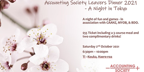 UC Accounting Society Leavers Dinner tickets