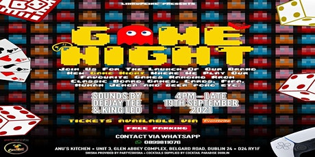 LinkUpEire Presents: Games Night tickets