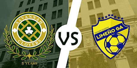 UPSL Soccer: Savannah Clovers v Limeno SA tickets