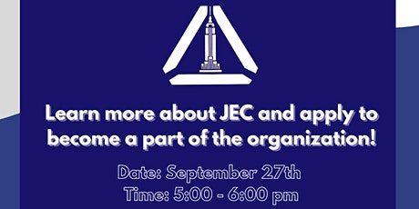 JECNYC Fall Open House - Get Exposure to the Business World tickets