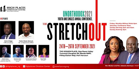Unorthodox 2021- HPCC Youth Ablaze Conference tagged; STRETCH OUT. tickets