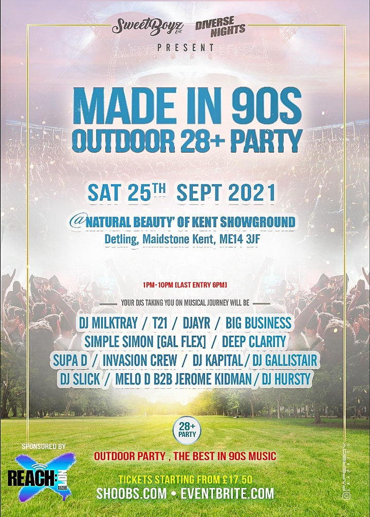 Made In 90s • 28+ Outdoor Party image